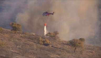 Пожарные не могут локализовать пожар возле Афин