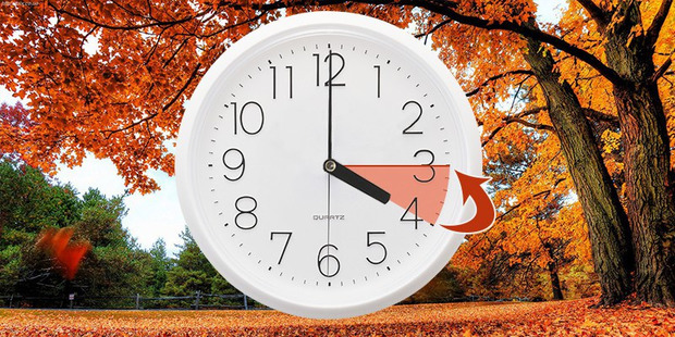 Перевода часов на зимнее время