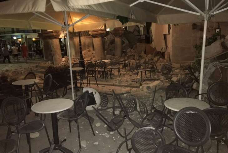 Землетрясение в Греции и Турции 21 июля 2017 года