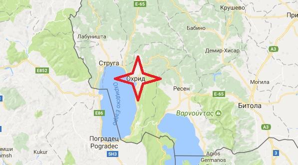 Новая серия землетрясений в Охриде