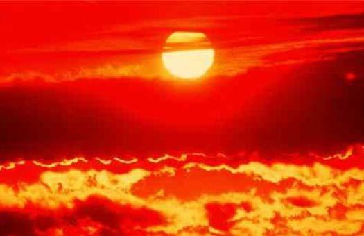 50-градусная жара на итальянском острове Сардиния