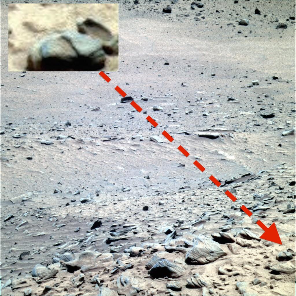 Чаша древней цивилизации на Марсе
