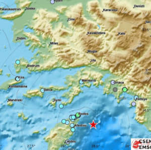 землетрясение в районе популярного турецкого курорта